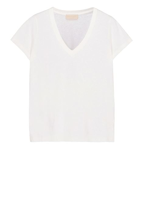 T-shirt con scollo a v MOMONI | T-shirt | MOTS008 35MO0020