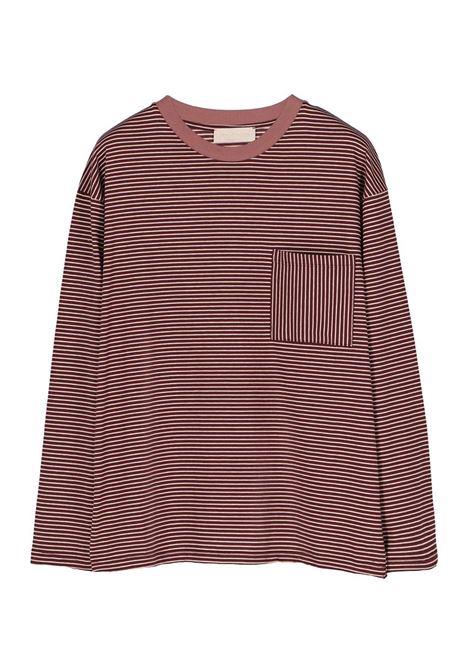 T-SHIRT GIROCOLLO IN JERSEY A RIGHE MOMONI | Top & T-shirt | MOTS013 36MO4026
