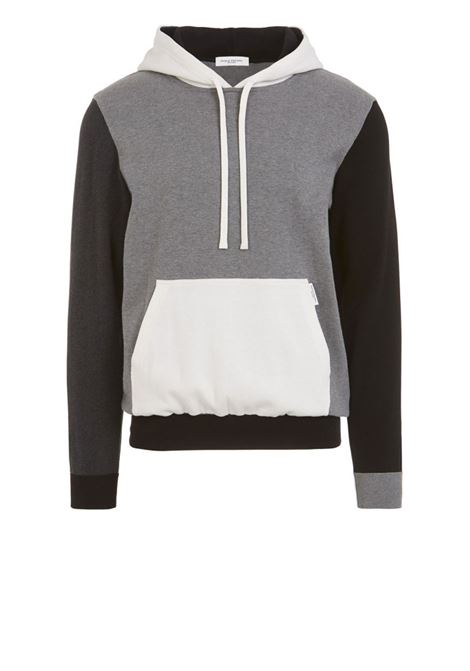 Knit colour-block hoody PAOLO PECORA | Sweaters | A057-76040001