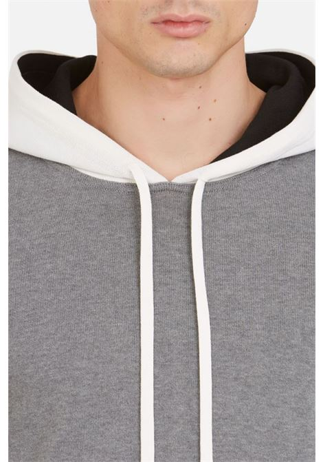 Knit colour-block hoody PAOLO PECORA | Knitwear | A057-76040001