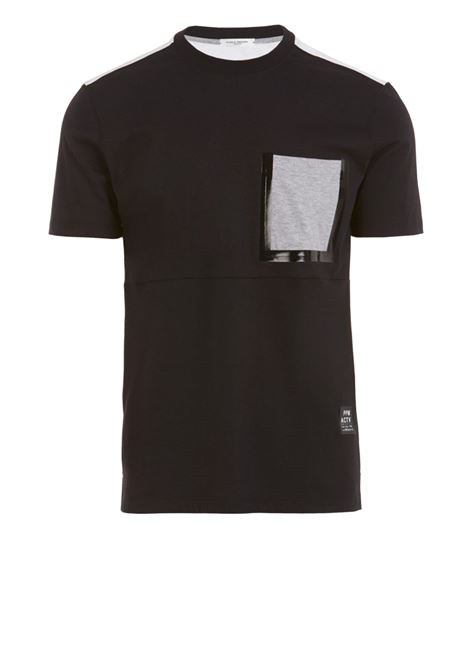 Crew neck T-shirt with pocket PAOLO PECORA | T-shirts | F121-41579000