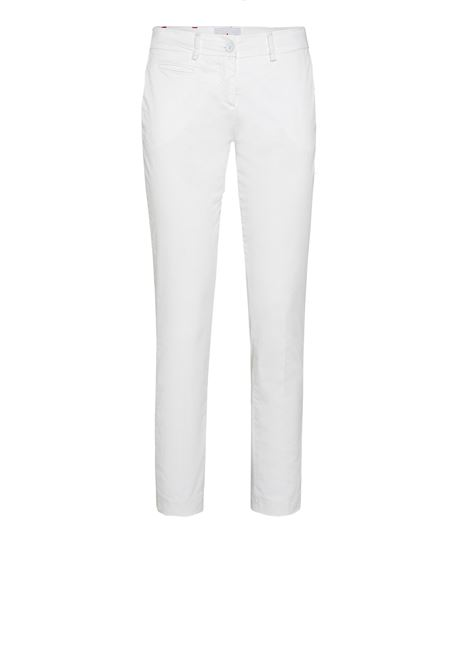 Chino trousers in gambardine PEUTEREY | Trousers | PED3592BIA