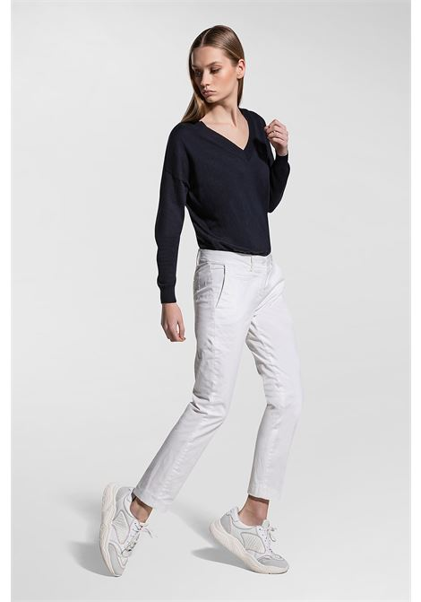 Chino trousers in gambardine PEUTEREY | Pants | PED3592BIA