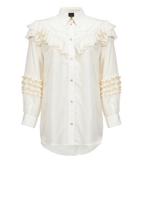 Shirt with rouches PINKO | Shirts | 1B14C3-7970C03