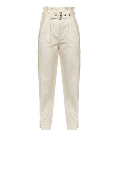 High-waisted trousers with belt PINKO | Trousers | 1B14CV-8004C00