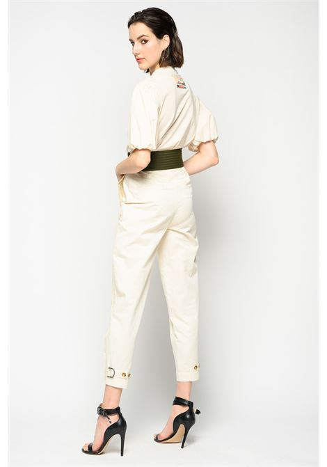 High-waisted trousers with belt PINKO |  | 1B14CV-8004C00
