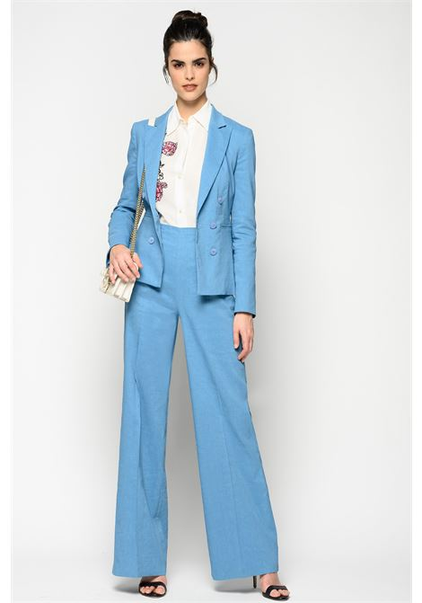 Palazzo trousers in linen and viscose cloth PINKO |  | 1B14F3-7435F54