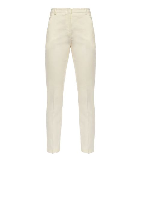 Cigarette-fit trousers in cloth PINKO | Trousers | 1B14FL-7435C00