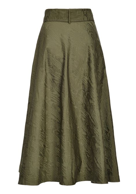 Skirt in moiré taffeta PINKO | Skirts | 1B14G2-7984X22