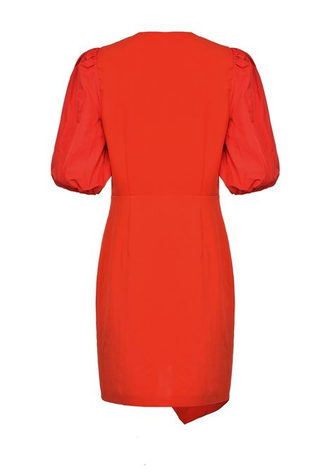 Short red dress in crepe PINKO | Dresses | 1B14J1-8070R73