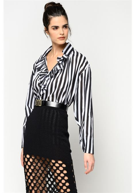 Striped blouse with belt PINKO |  | 1G14RK-7930ZZ2
