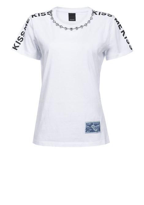 Kiss me T-shirt PINKO | T-shirts | 1G14WQ-Y5BDZ04