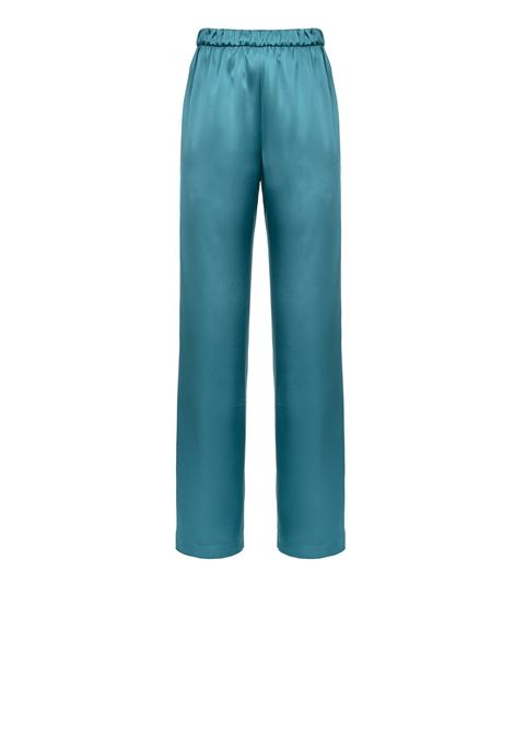 Supple satin trousers  PINKO | Trousers | 1G14XP-7914X35