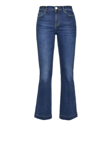 Flare jeans in stretch twill denim PINKO | Jeans | 1J10CN-Y62FG46