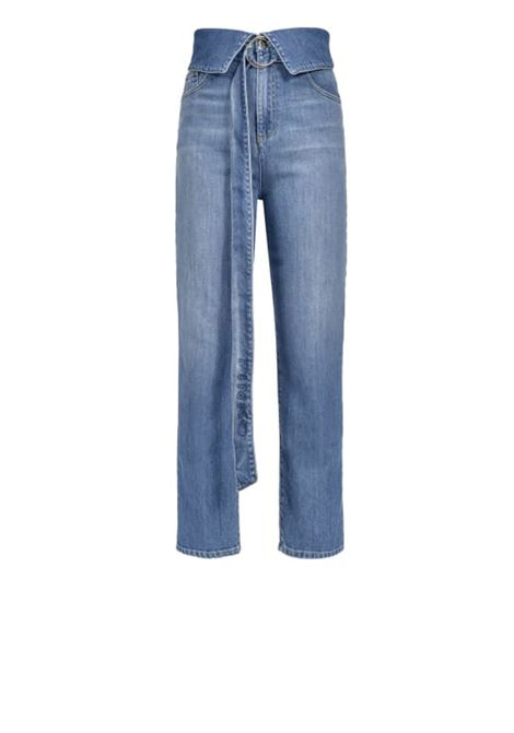 Jeans straight-fit con cintura PINKO | Jeans | 1J10DH-Y63LF94