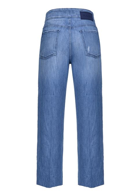 Straight-fit jeans with belt PINKO | Jeans | 1J10DZ-Y5X8G58