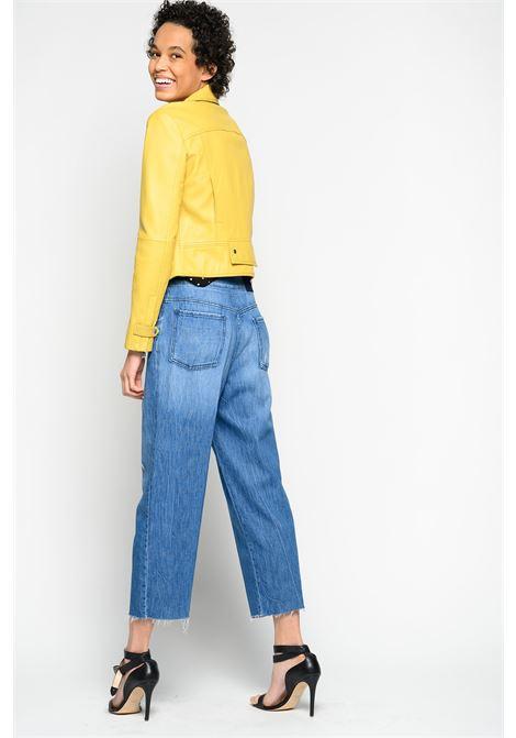 Jeans straight-fit con cintura PINKO | Jeans | 1J10DZ-Y5X8G58