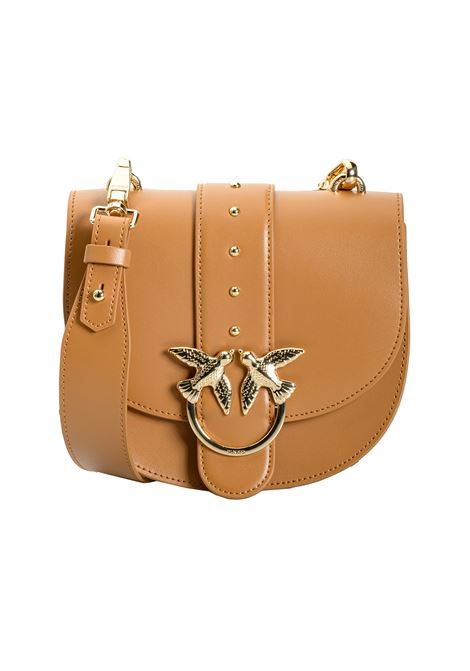Leather go-round bag simply PINKO | Bags | 1P21KP-Y5FFL11