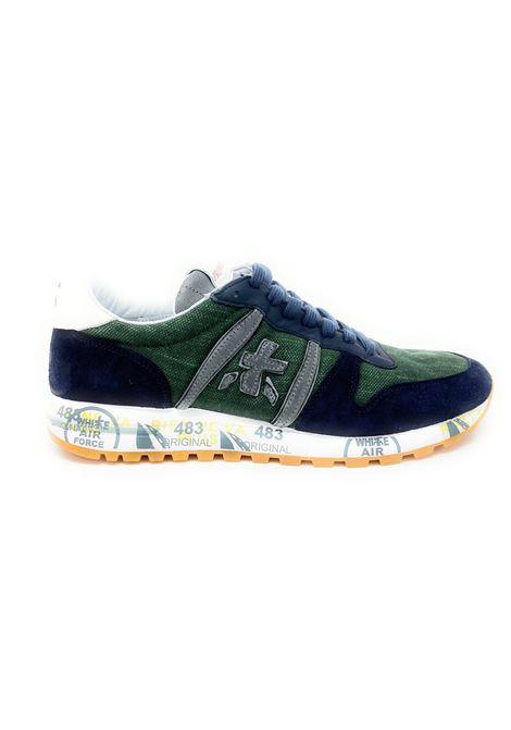 Sneakeruomo  Eric 4669 pelle e cotone PREMIATA | Scarpe | ERIC4669