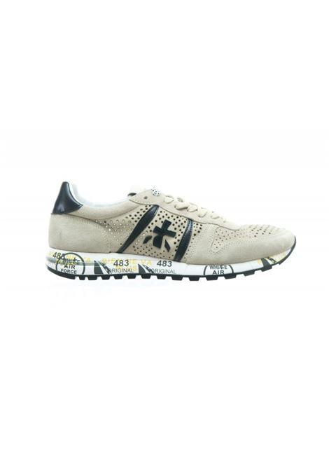 Sneakers uomo ERIC 4740  in camoscio perforato beige PREMIATA | Scarpe | ERIC4740