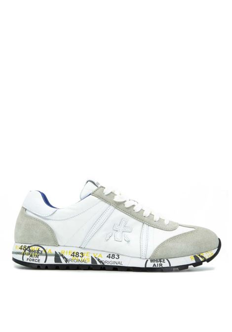 Lucy 206 EA summer sneakers made of suede leather blend PREMIATA | Shoes | LUCY206EA