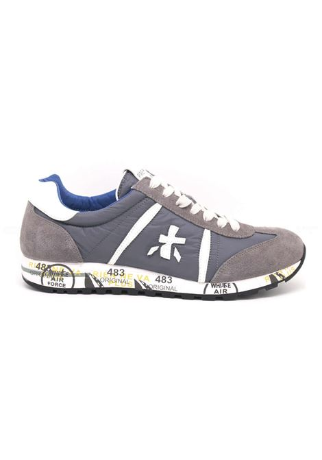 Man sneakers Lucy 618 suede fabric PREMIATA | Shoes | LUCY618EA