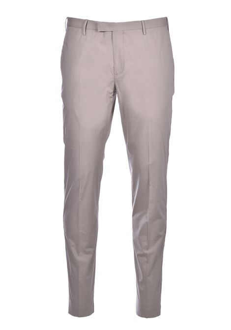 Skinny trousers ultralight fabric - beige PT01 | Trousers | CO-KLZEZ10CL3-BP230120
