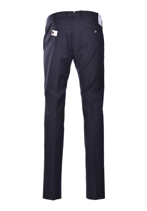 Pantalone Traveller skinny in misto lana - grigio scuro PT01 | Pantaloni | CO-KSTVZ00TVN-PO350260