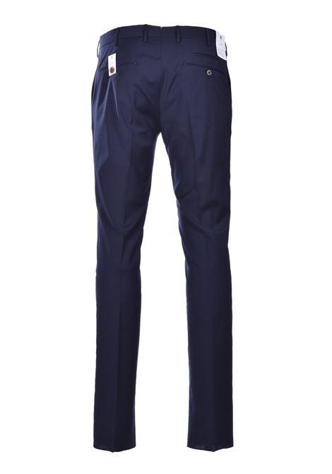 Pantalone Traveller skinny in misto lana - blu scuro PT01 | Pantaloni | CO-KSTVZ00TVN-PO350360