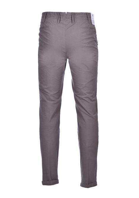 Chino in cotone elasticizzato - fango PT01 | Pantaloni | CO-TTSAZ10WOL-NU060120