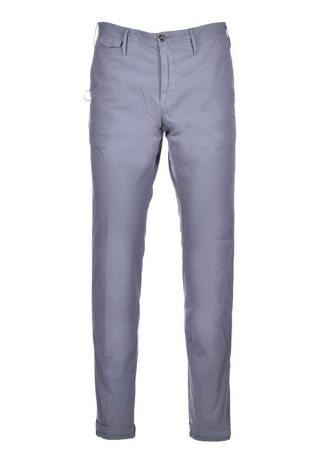 Cotton blend chinos - grey PT01 | Trousers | CO-TTSAZ10WOL-NU060230