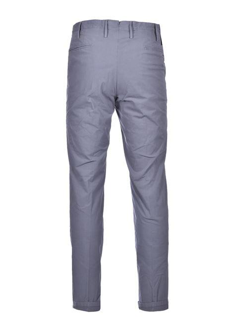 Chino in cotone elasticizzato - grigio PT01 | Pantaloni | CO-TTSAZ10WOL-NU060230
