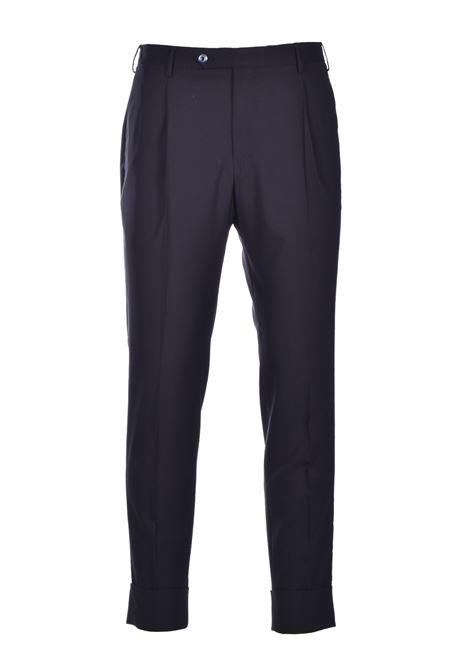 Flicker Classic trousers with high turn-up - black PT01 | Trousers | CP-ASFKZ10KOL-MZ650990