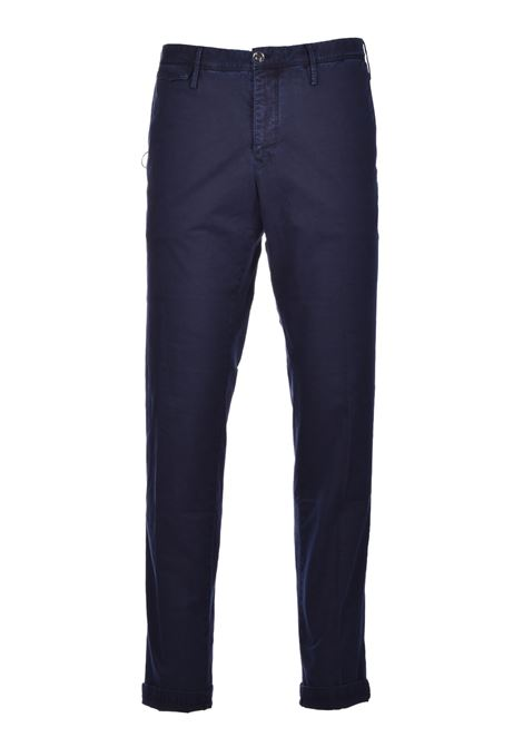 Super slim Chino trousers - dark blue PT01 | Trousers | CP-DTTMZ10WOL-NK060377