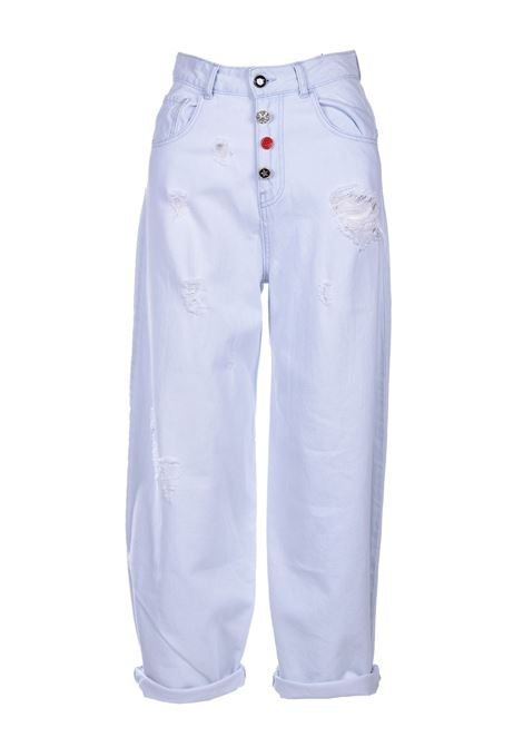 adelaide jeans wide vita alta SEMICOUTURE | Jeans | S0SY01JNS01
