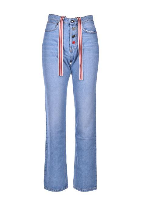 Jeans boyfriend con nastro SEMICOUTURE | Jeans | Y0SY01M43-0