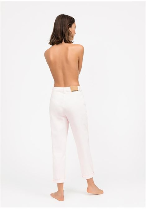 mom Jeans a sigaretta - confetto SEMICOUTURE | Jeans | Y0SY11G02-0