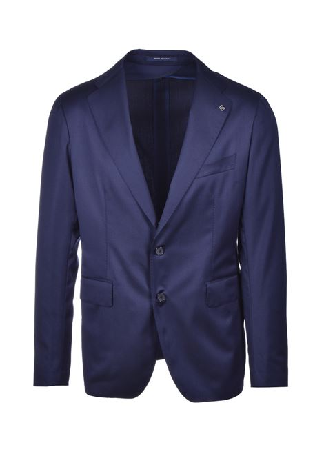 men's suit in cool wool slim fit - blue TAGLIATORE | Dresses | 2SMC22B01 06UPZ245I3146
