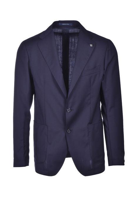 abito da uomo in fresco lana slim fit - blu scuro TAGLIATORE | Abiti | A-DAKAR22K11 12UPZ236B085