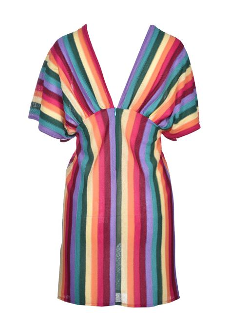 mini dress giglio - arcobaleno VIKI-AND | Vestiti | 284/0-GGMULTI