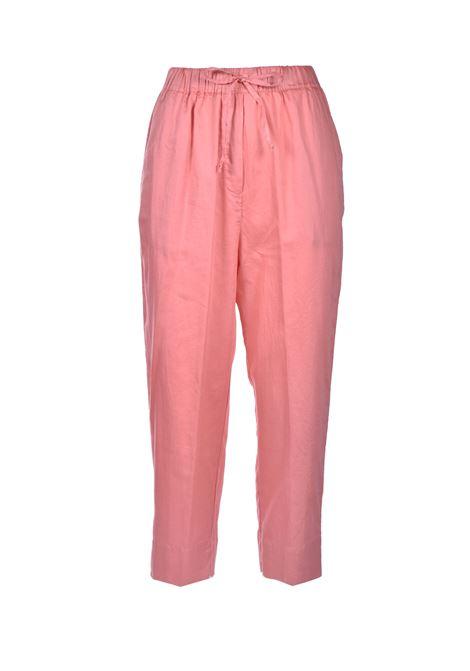 Pink pure cotton trousers ALESSIA SANTI | Pants | 25033S2488