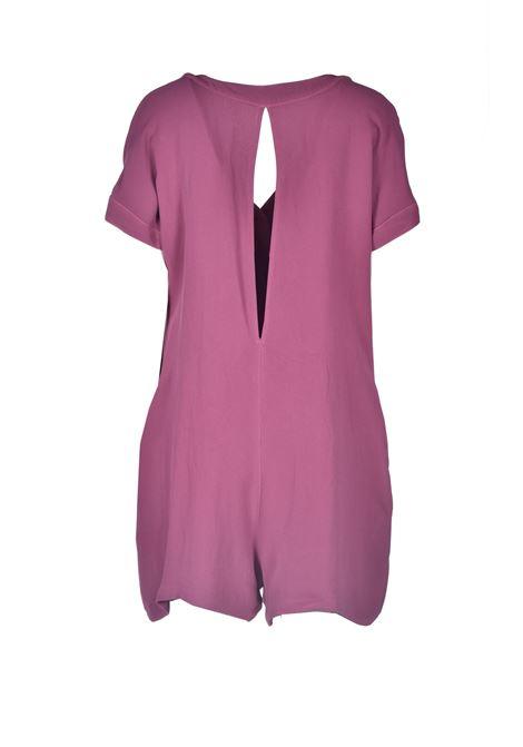 Short jumpsuit in onion-colored crepe ALESSIA SANTI |  | 25060S2499