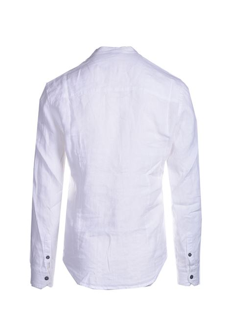 Shuttle linen shirt ALPHA STUDIO | Shirts | AU 4471/L1240