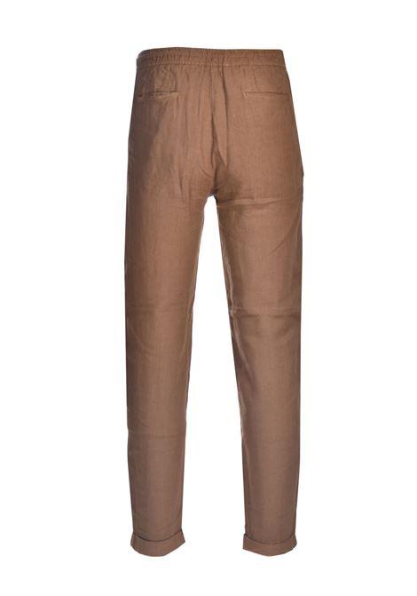 Pantalone in lino navetta ALPHA STUDIO | Pantaloni | AU 4473/Q1241