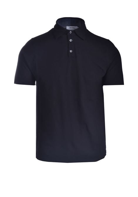 Stretch cotton pique polo shirt ALPHA STUDIO | Polo Shirt | AU 4500/B1270