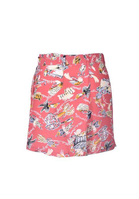 Shorts in tessuto naturale con stampa ANTIK BATIK | Shorts | HILO1SOTRED