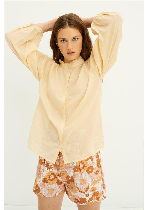 Blusa in voile di cotone crema ANTIK BATIK | Bluse | LALA1BLOSAND