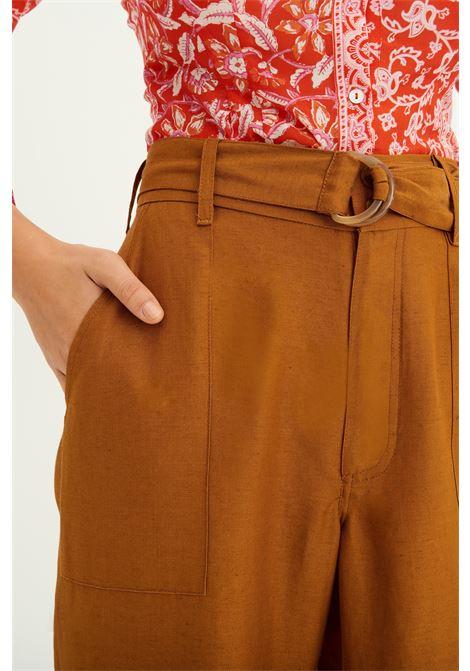 Pantaloni palazzo a vita alta ruggine ANTIK BATIK | Pantaloni | OSCAR1PANRUST