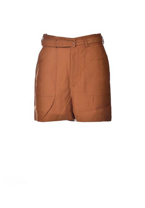 High waisted shorts with rust belt ANTIK BATIK | Shorts | OSCAR1SOTRUST