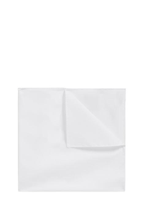 Pure cotton jacquard pocket square. Hugo Boss BOSS | Pocket Square | 50242752100